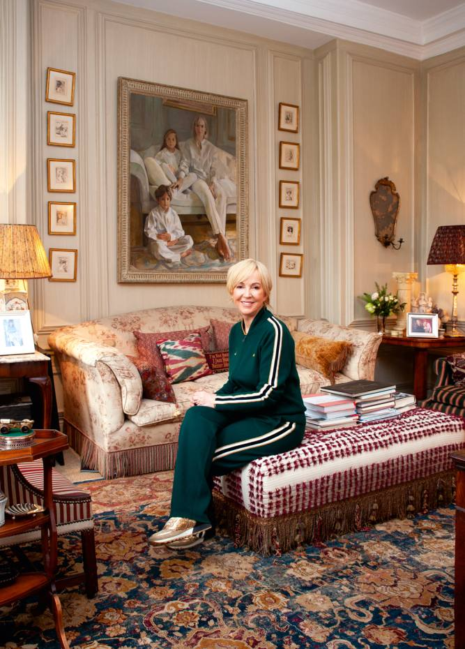 Sally Greene at home in London
