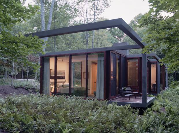 Allied Works' guest house in Dutchess County, New York state