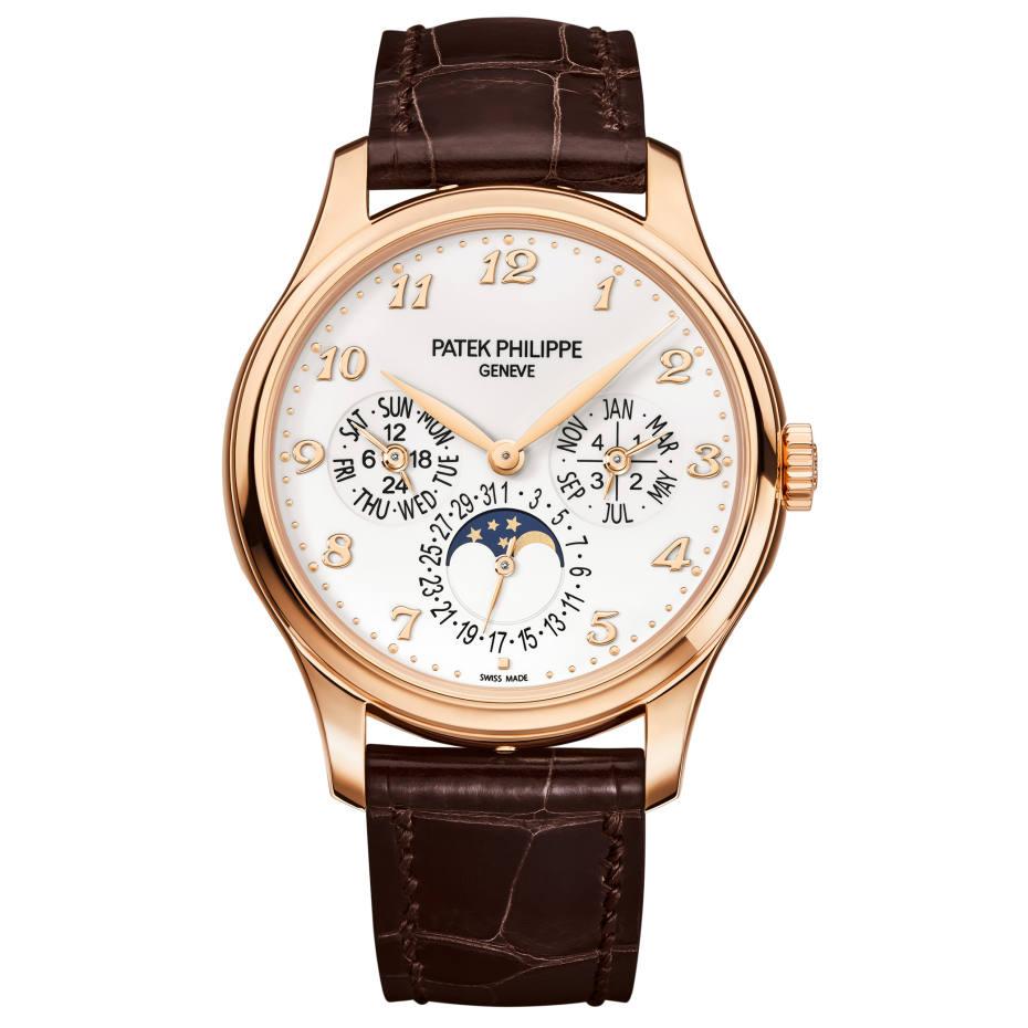 Patek Philippe rose gold Perpetual Calendar watch, £63,380