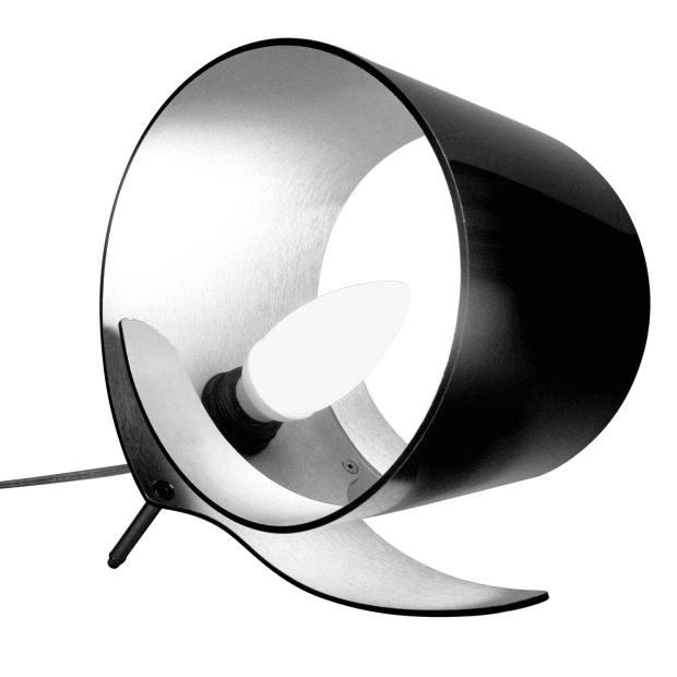 Shane Holland aluminium Etang table lamp, €135