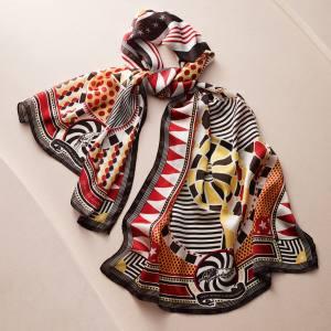 Marcel Wanders silk Circus scarf, €90.75