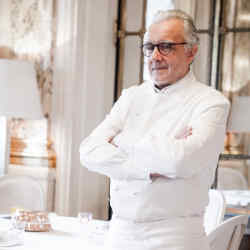 Alain Ducasse is bringing five of his star chefs together for the January 31 event at Le Meurice