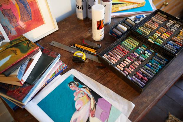 Artist Hester Finch is offering online classes in pastels and painting through Partnership Editions