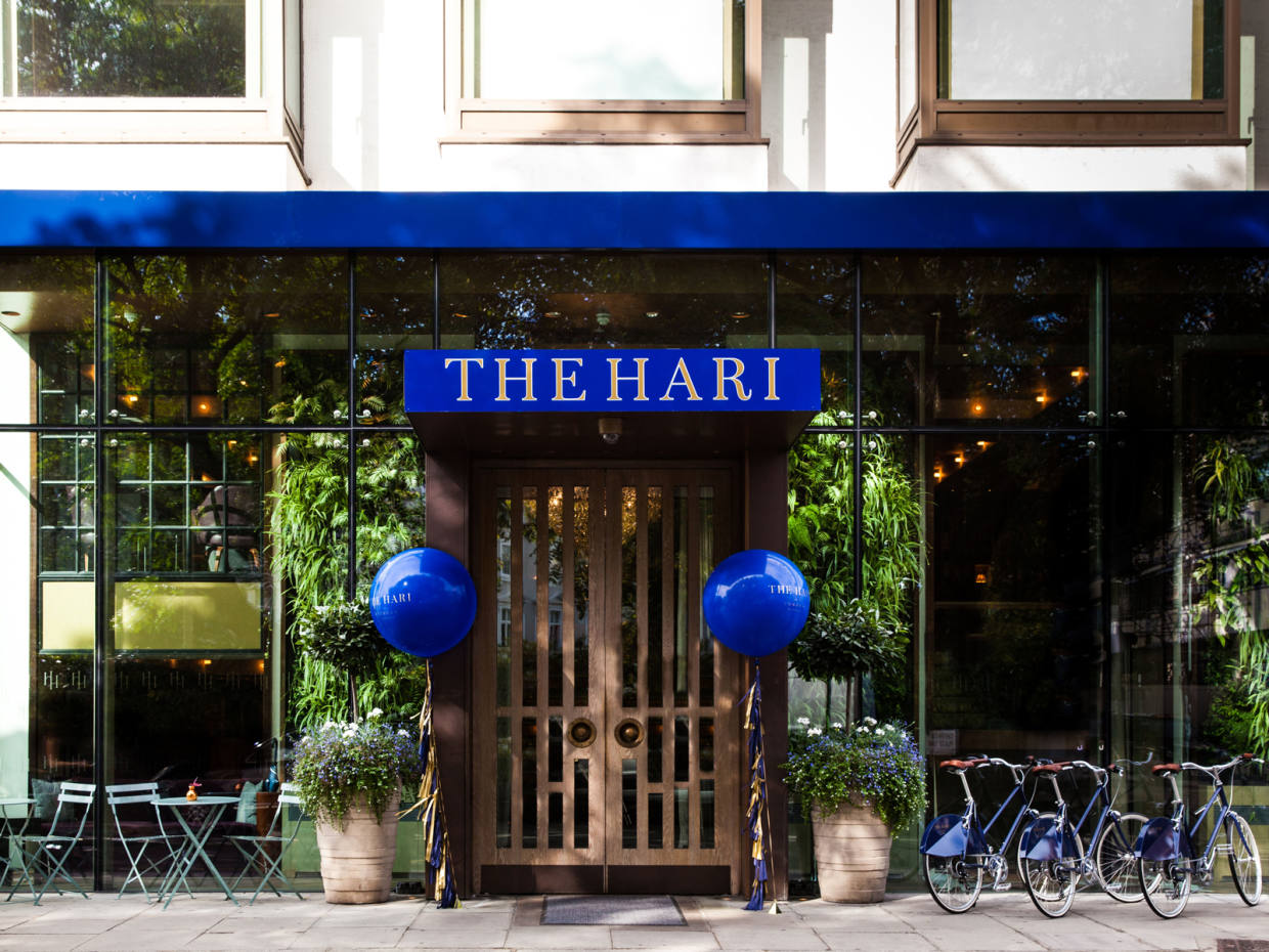 The Hari in Belgravia is hosting the event