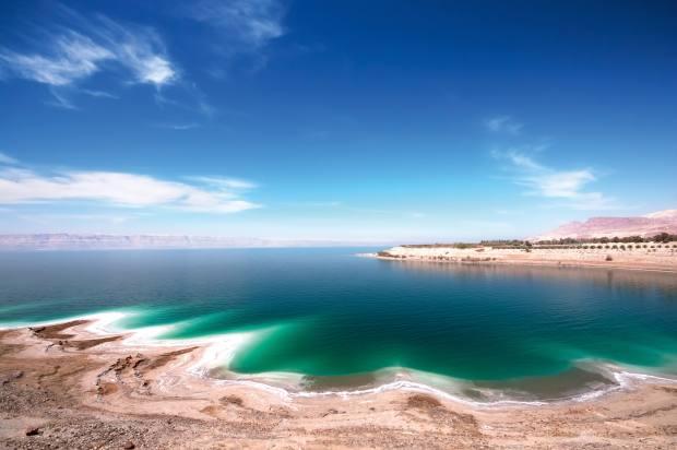 The Dead Sea,430m below sea level