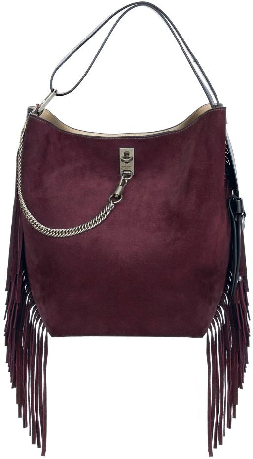 Givenchy leather and suede GV Bucket bag, £2,090