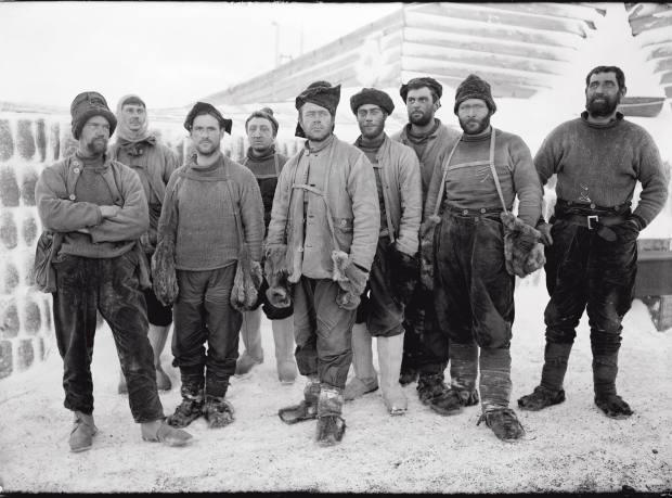 Captain Scott's Terra Nova team, April 13 1911