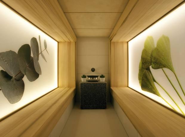 The Acqua Calda Spa's Herbal Sauna