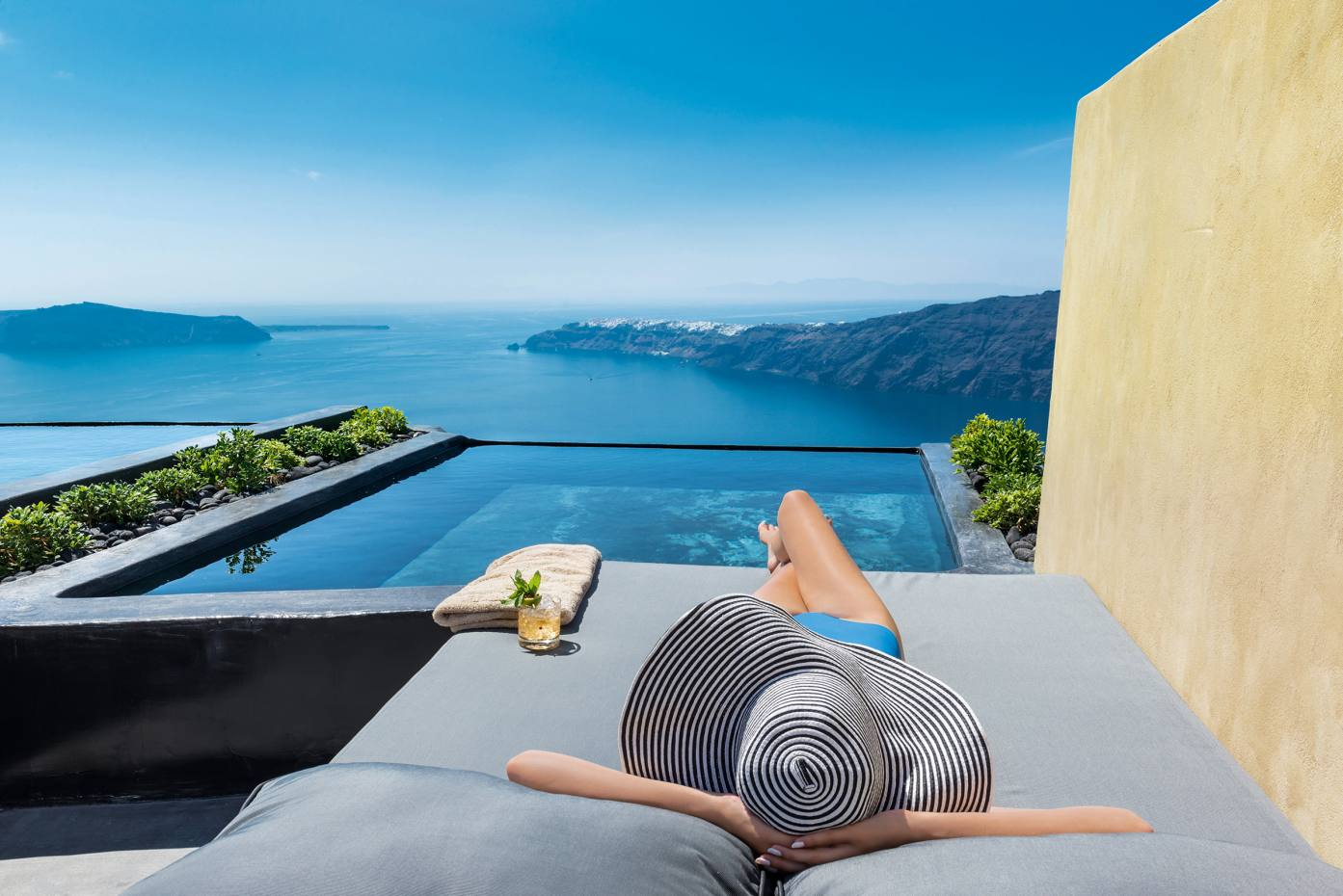 Andronis Concept on Santorini features a handful of private-pool suites