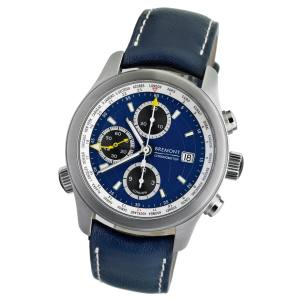 Bremont ALT1-WT World Timer watch in stainless steel with embossed calfskin strap, from Mr Porter, £4,195