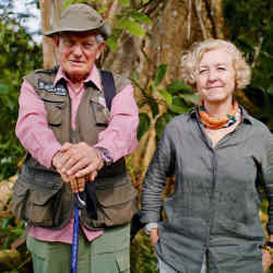 Expedition leader Colonel John Blashford-Snell with the author