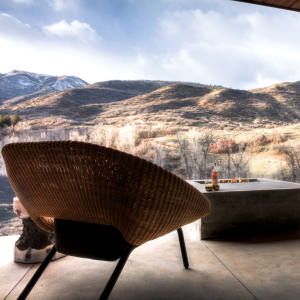 Utah's The Lodge at Blue Sky puts a new spin on the American West ranch fantasy
