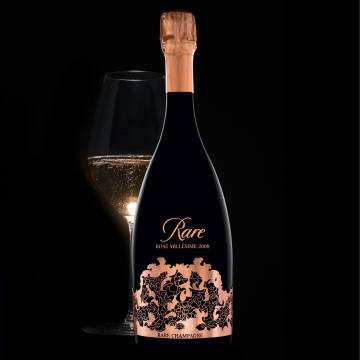 Rare Champagne's 2008 Rare Rosé will available from mid July for around £360