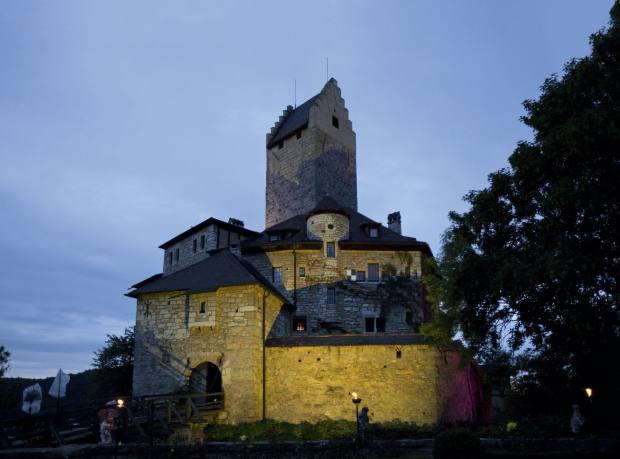 Burg Kipfenberg in the Altmühltal Nature Park
