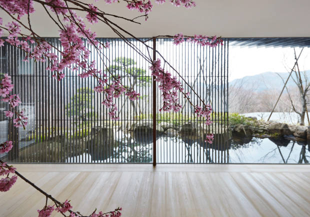 Natural materials and sliding doors define the Japanese house, a bolthole in Kanagawa owned by a couple who live in the city