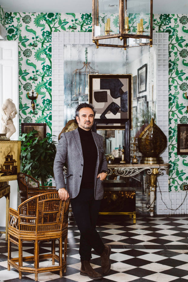 Lorenzo Castillo loves the antiques shops and restaurants of El Rastro