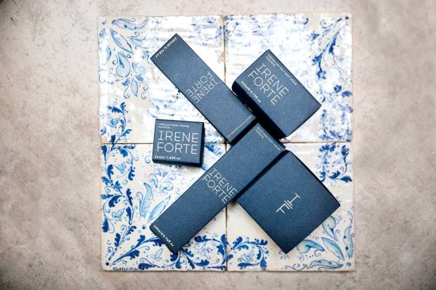 A selection of Irene Forte skincare products