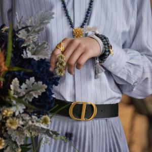 Dior jasper Dior Jardin double bracelet, £540