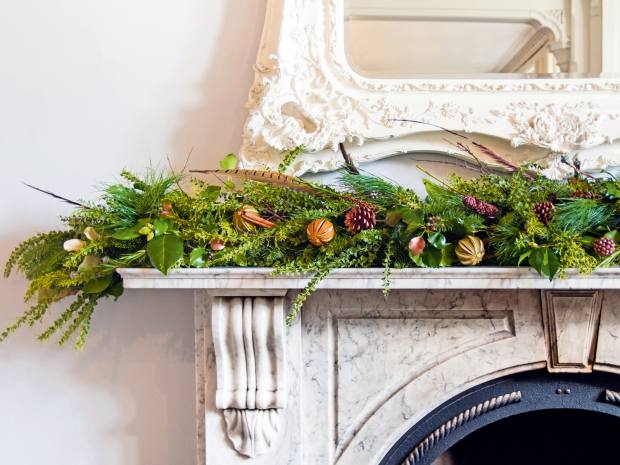 A foliage garland from Tregothnan, from £10.70 per ft