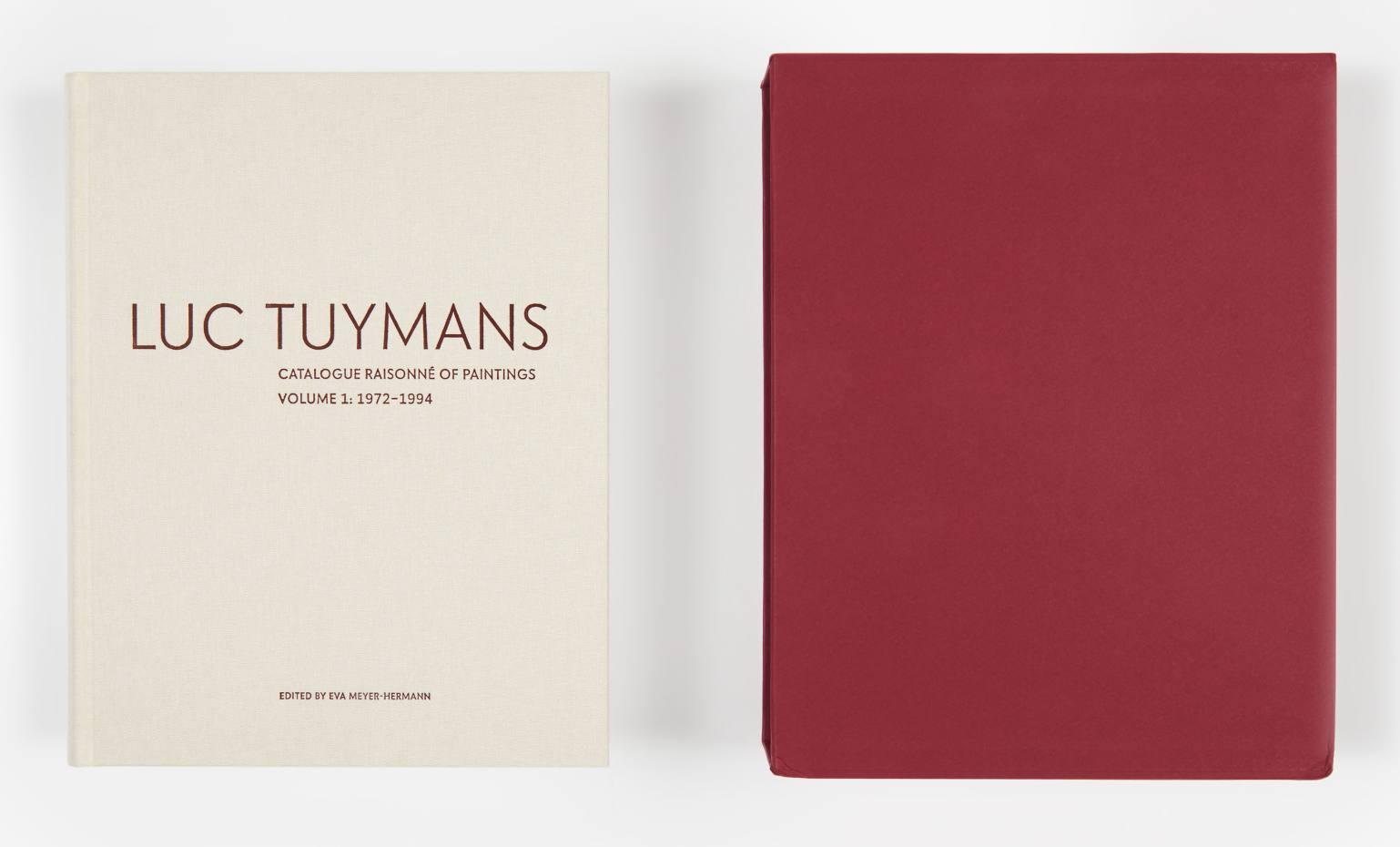 Luc Tuymans Catalogue Raisonné Volume 1, 1972-94, $200 from David Zwirner Books