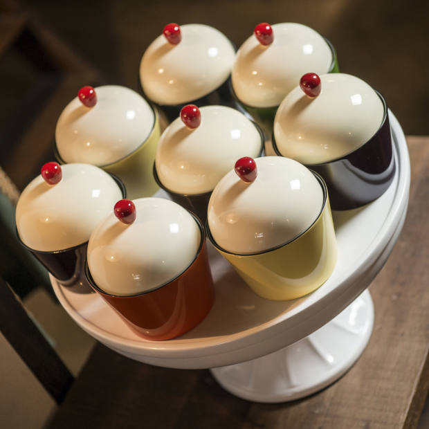 Wetter Indochine cupcakes and cake stand, from about £14