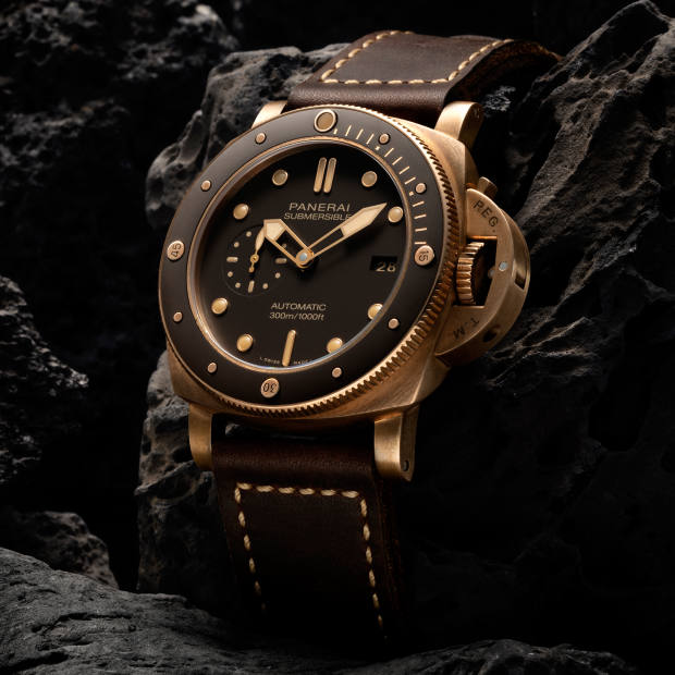 The Submersible Bronzo is priced £13,900
