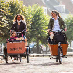 Babboe's line-up includes the £1,499 pedal-only Big cargo bike