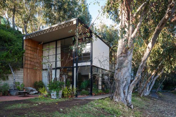 Eames House in Pacific Palisades, Los Angeles