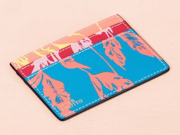 Peter Pilotto leather card holder, £80