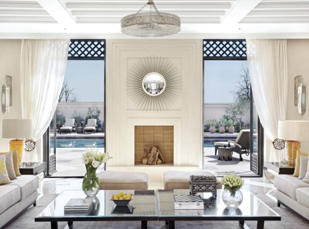 The Royal Villa Suite at the Four Seasons Resort Marrakech