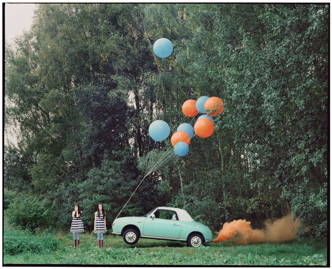 The Twins & the Green Car 6 by Vikram Kushwah, from £1,100