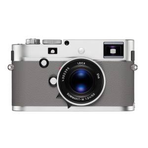 Leica chrome-finish and leather M Monochrom camera, from £5,700
