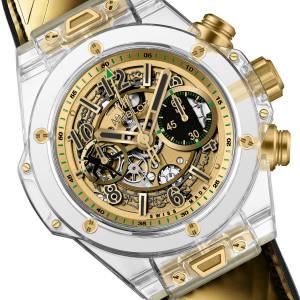 Hublot Big Bang Unico Sapphire Usain Bolt watch, expected to raise €46,000 to €73,000