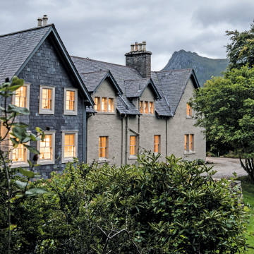The Lodge on the Kinloch estate in Sutherland is set amid a vast wilderness conservation area