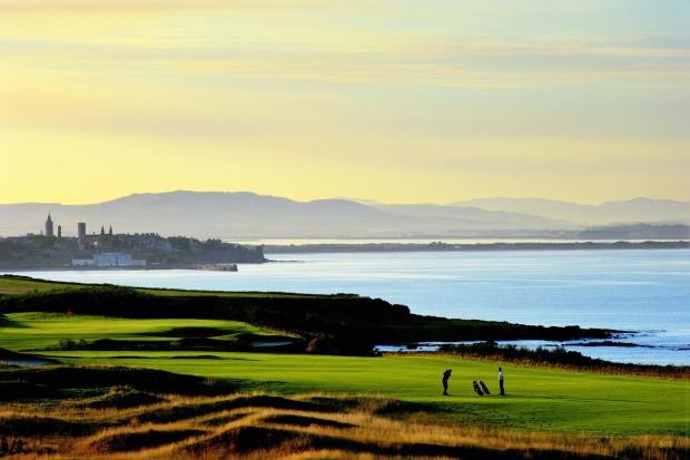 The view at Fairmont St Andrews