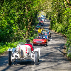 The St Mawes Classic Car Festival – now in its ninth year – takes in Cornwall's Roseland peninsula