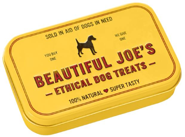 Beautiful Joe's dog treats, £2.50