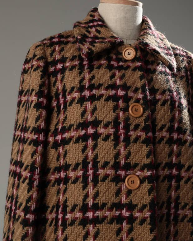 Sozzani's Miu Miu coat, £846 at Yoox.com