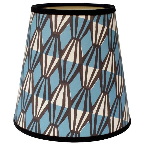 Threadwork and Smocking lampshade, £55