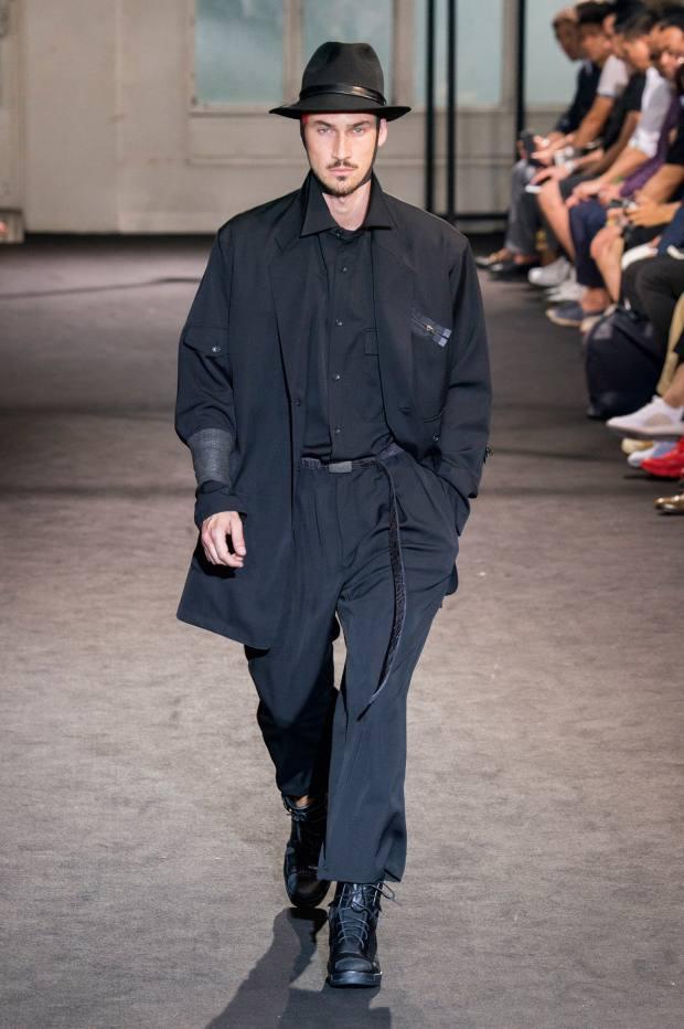 pretty nice 7920c 83de8 Yohji Yamamoto wool gabardine jacket, £1,790