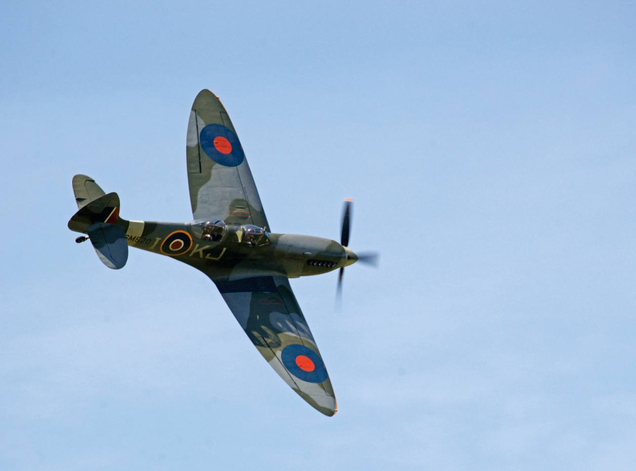 The Boultbee Spitfire was bought at auction in 2009 for £1.7m