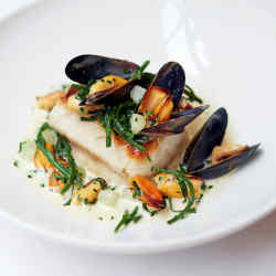 The Gannet sampled the hake with mussels, samphire and chives and a fish velouté at Lutyens restaurant