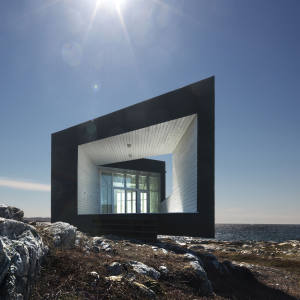 Shorefast Foundation's Long Studio, located on Joe Batt's Arm, Fogo Island