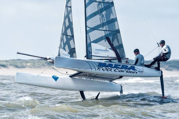 High-performance craft such as the Nacra 20FCS, €40,800, are also becoming increasingly popular
