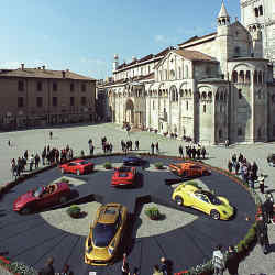 Modena Motor Valley Fest will showcase the Italian city's remarkable automobile heritage