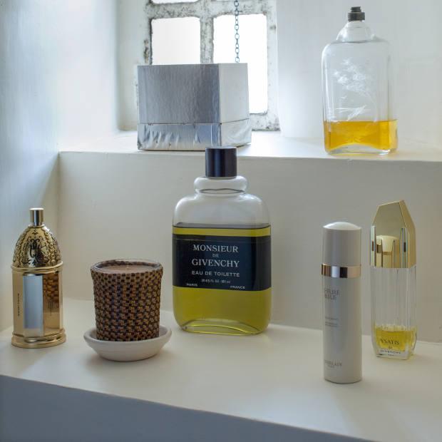 Monsieur de Givenchy Eau de Toilette takes pride of place
