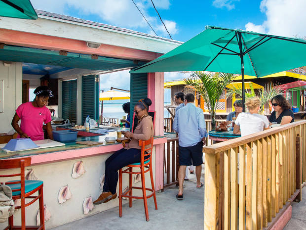 Family-run restaurant Queen Conch