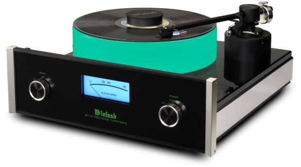 John Varvatos is a fan of the McIntosh MT10 turntable
