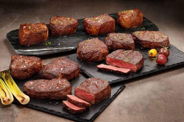 Snake River Farms' Gold Steak Special includes 12 Gold Grade American Wagyu steaks, $600