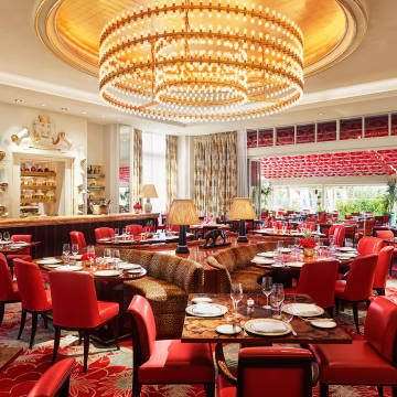 Los Fuegos by Francis Mullman at the Faena Hotel – a Miami Beach favourite of Pernod Ricard CEO Alexandre Ricard